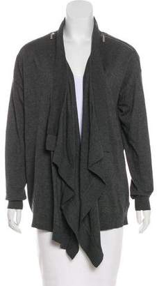 MICHAEL Michael Kors Asymmetrical Open Cardigan