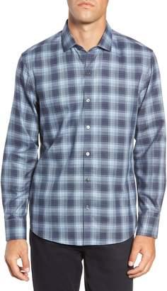 Zachary Prell Oris Regular Fit Check Sport Shirt