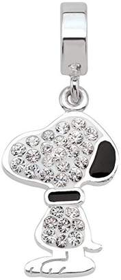 Persona Sterling Silver Peanuts Love Drives Me Crazy Bead Charm