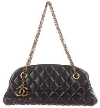 Chanel Just Mademoiselle Small Bowling Bag