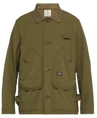 Snow Peak - Takibi Corduroy Collar Jacket - Mens - Green