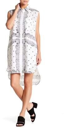 KENDALL + KYLIE Kendall & Kylie Sleeveless Bandana Silk Dress