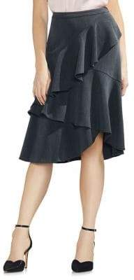 Vince Camuto Tiered Ruffle A-Line Skirt
