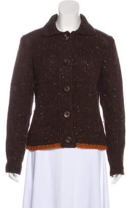 Akris Cashmere Heavy Knit Cardigan