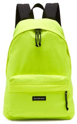 Balenciaga Fluorescent Backpack - Mens - Green