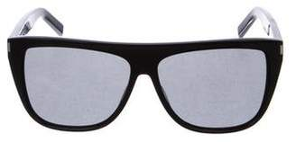 Saint Laurent Square Tinted Sunglasses