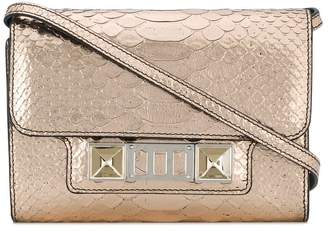 Proenza Schouler Embossed Python PS11 Wallet with Strap