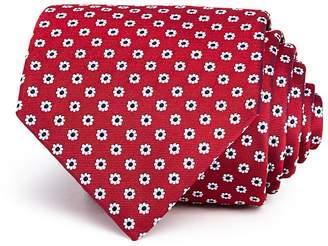 Turnbull & Asser Neat Daisy Silk Classic Tie