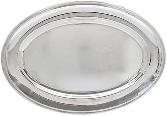 One Kings Lane Vintage French Christofle Silver-Plate Tray - Rose Victoria