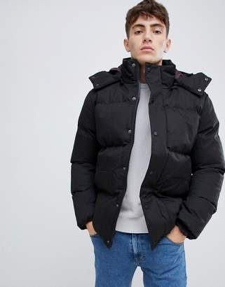 Bellfield padded jacket with removable hood