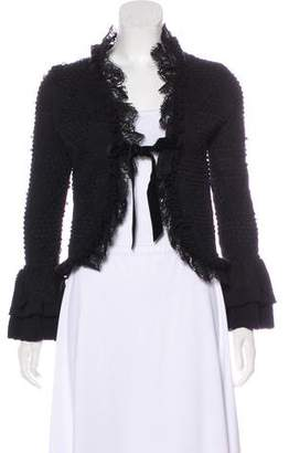 Valentino Virgin Wool Cardigan