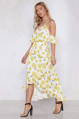 Nasty Gal Grow With the Flow Floral Dress