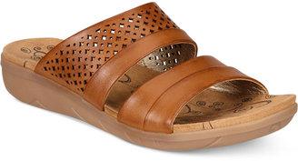 Bare Traps Jimina Slide Sandals $59 thestylecure.com