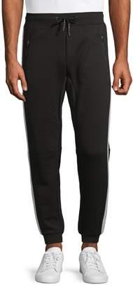 Point Zero Side-Striped Jogger Pants