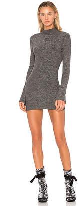 Off-White Lurex Knit Dress