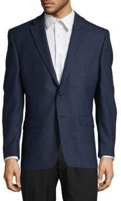 Ralph Lauren Wool Two-Button Blazer