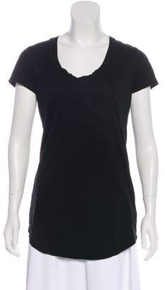 James Perse Lightweight Short Sleeve Top