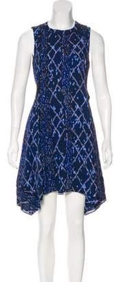 Proenza Schouler Sleeveless Silk Dress