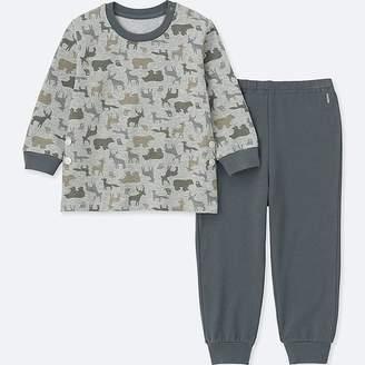 Uniqlo Toddler Long-sleeve Pajamas