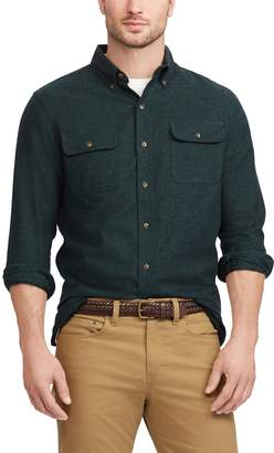 Chaps Men's Regular-Fit Work Shirt