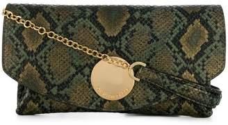 L'Autre Chose snakeskin clutch bag