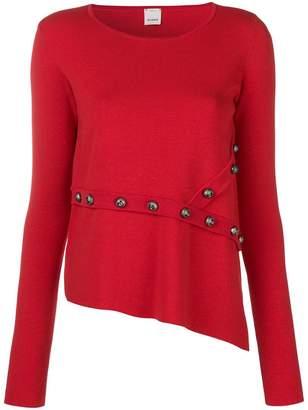 Pinko Geranio studded detail jumper