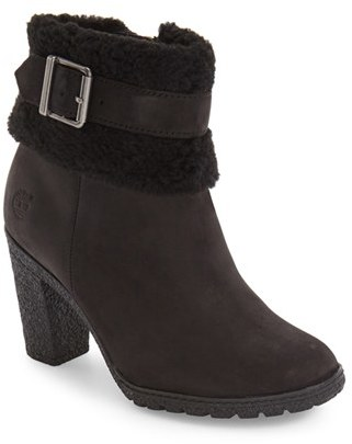 Women's Timberland Glancy Teddy Bootie $139.95 thestylecure.com