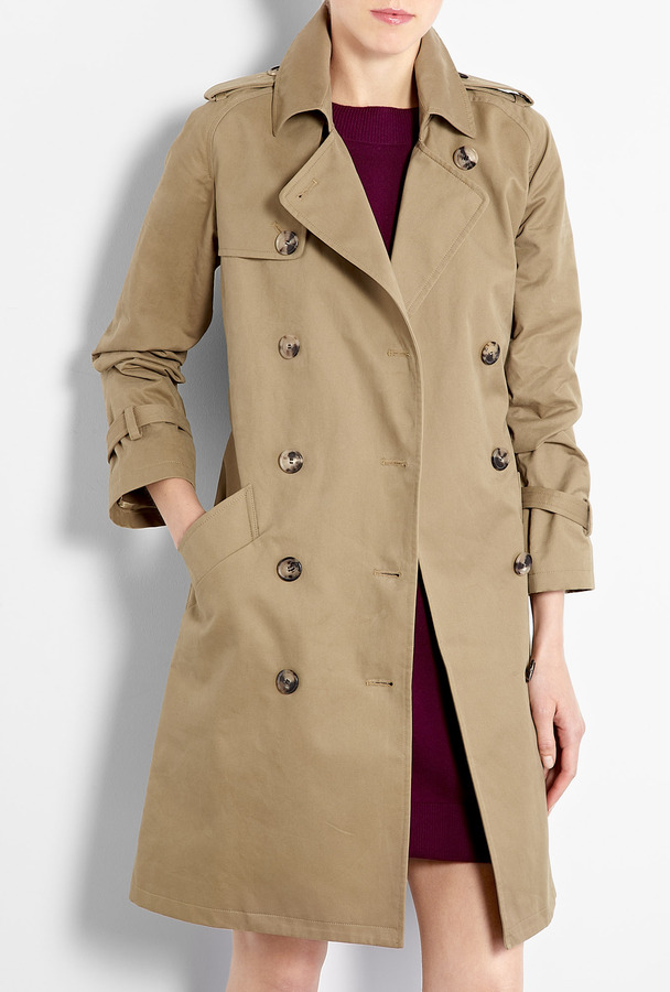 A.P.C. Ultimate Waxed Cotton Trench Coat