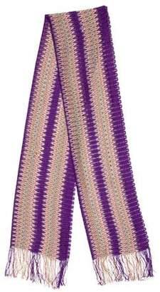 Missoni Open Knit Scarf