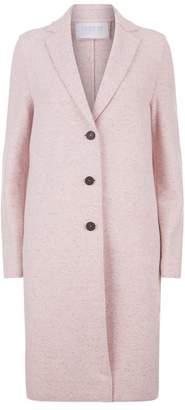 Harris Wharf London Cashmere Wool Longline Coat