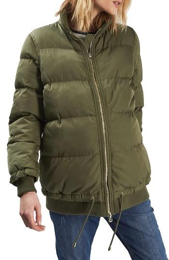 TopshopWomen's Topshop Carter Maternity Puffer Jacket
