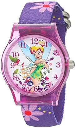 Disney Kids' W001968 Tinker Bell Analog Display Analog Quartz Watch
