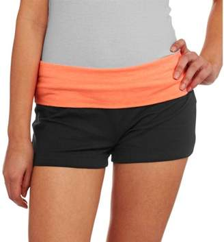 No Boundaries Juniors' Yoga Shorts