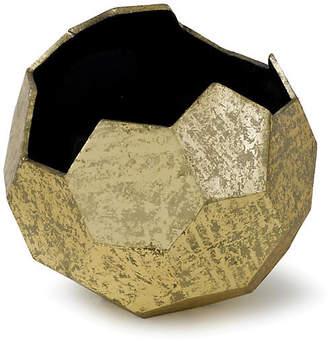 Regina-Andrew Design Polyhedron Vase - Antique Gold - Regina Andrew Design