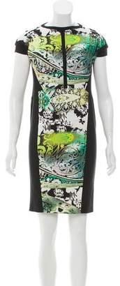 Etro Abstract Print Sheath Dress