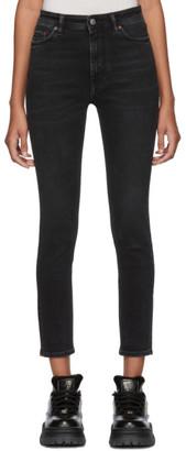 Acne Studios Black Bla Konst Peg Jeans