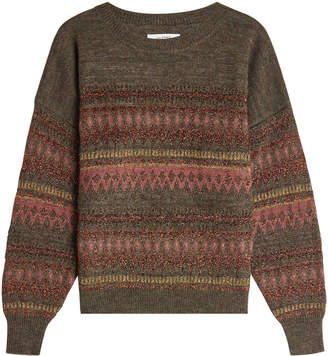Etoile Isabel Marant Pullover with Wool and Metallic Thread