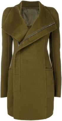 Rick Owens zipped coat
