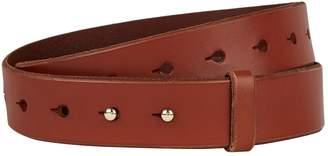 Frame Leather Pin Belt