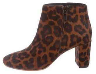 Loeffler Randall Greer Leopard Booties w/ Tags