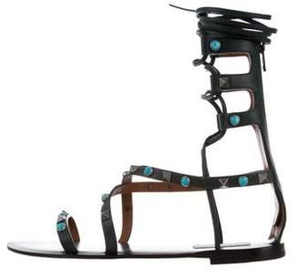 Valentino Rolling Rockstud Sandals