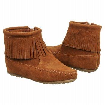 Minnetonka Moccasin Kids' Inside Zip Boot