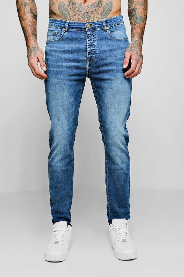 Skinny Fit Jeans In Blue Wash