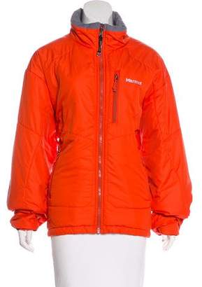 Marmot Zip-Up Puffer Jacket