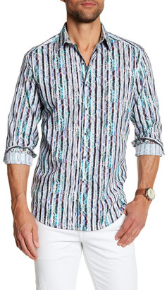 Robert Graham Commodores Classic Fit Dress Shirt $198 thestylecure.com