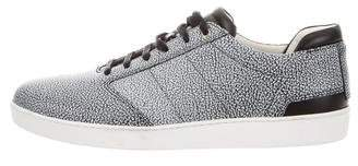 WANT Les Essentiels Spotted Leather Sneakers