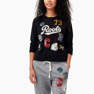 Roots Varsity Patches Crew Sweatshirt