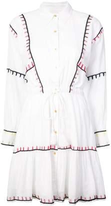Carolina K. embroidered shirt dress