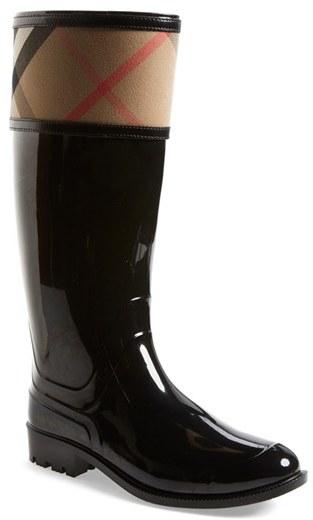 Women's Burberry Crosshill Rain Boot