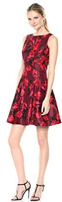Julian Taylor Women's Sleeveless Fit and Flare Dress